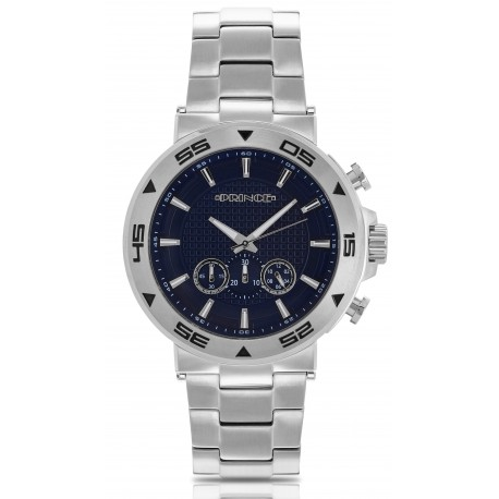 Prince Mens Adonis Stainless Steel Watch