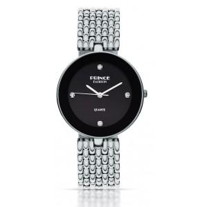 PF118 שעון לנשים PRINCE בצבע כסף / שחור