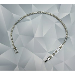 tenis bracelet steel