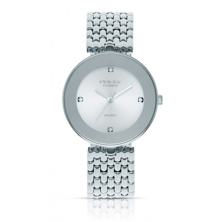 PF118 שעון לנשים PRINCE בצבע כסף / לבן
