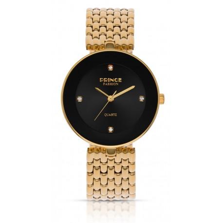 PF118 שעון לנשים PRINCE בצבע זהב / שחור