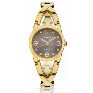 Prince Women's watches Pf208 בצבע זהב-שחור