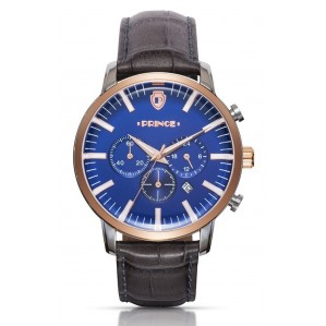 men's Wristwatch Prince PS2231S bronze-blue