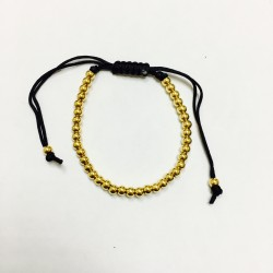 Metal bracelet beads