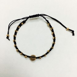 Globus bracelet beads