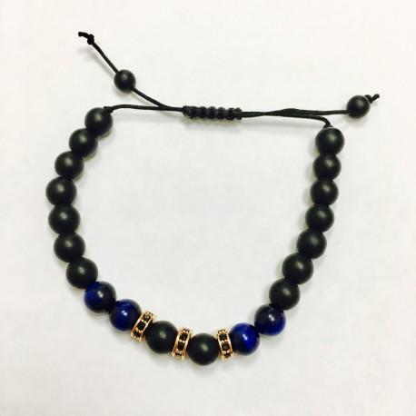 Steel bracelet beads